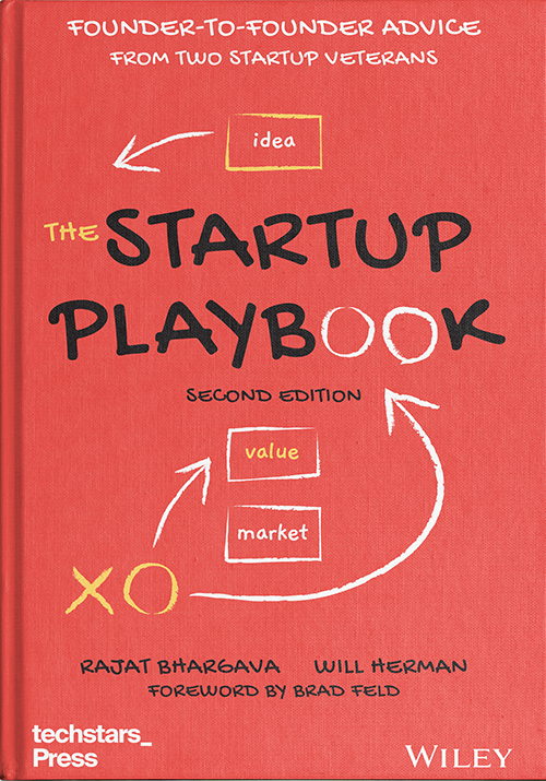 The Startup Playbook Cover