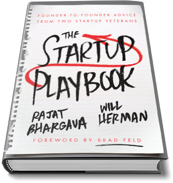 Startup Playbook Cover - Laying Flat - 350X380 - Transparent