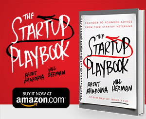 The Startup Playbook Ad