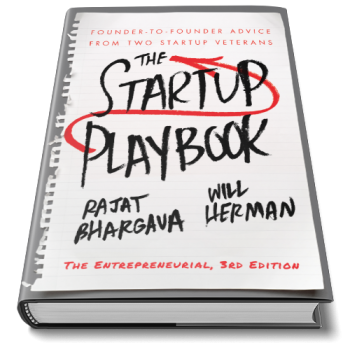 The Startup Playbook - 3rd Edition - Laying back - 500 x 500