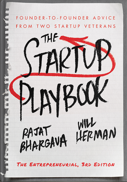 The Startup Playbook 3rd Ed Cover