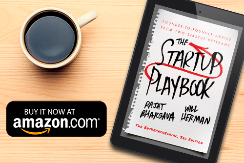 The Startup Playbook - 3rd Edition - Tablet n Coffee - Ad 2 - 500W